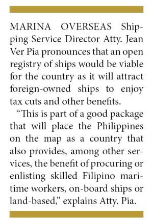 On Philippine Ship Registry